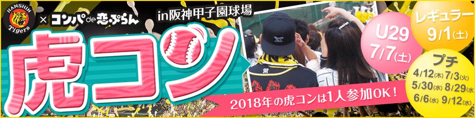 2018年阪神タイガース応援街コン「虎コン」