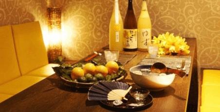 梅田 個室創作ゆず料理 ゆずの小町の店内写真