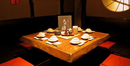 九州魂 恵比寿店の店内写真